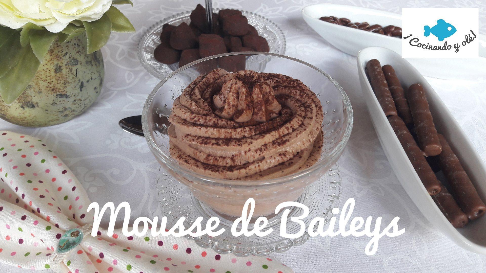 Mousse de Baileys